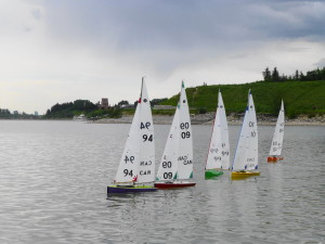 Radio Sailing on Glenmore Reservoir