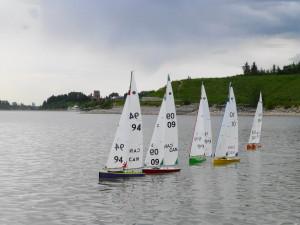 Radio Sailing on Glenmore Reservoir